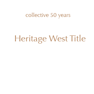 With a collective 50 years in the title and escrow industry, we, the local owners and staff members of Heritage West Title welcome you! We look forward to helping you with your title, escrow and real estate questions and transactions.